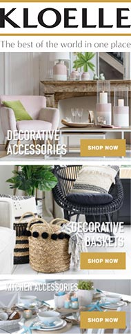 Visit KLOELLE® • Decorative Accessories • Home Decor and Interior Decorating