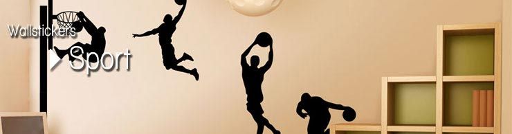 Wallstickers Sport