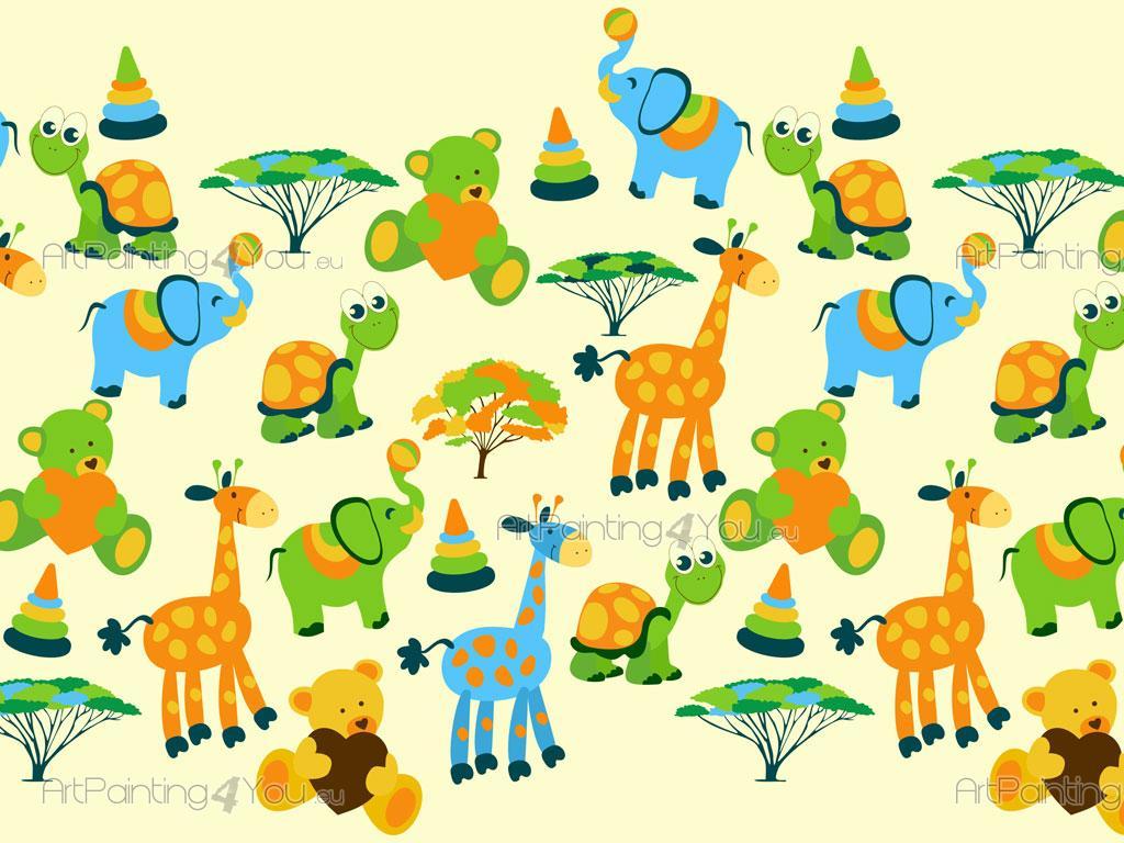 Cenefas infantiles safari fdi1004es - Cenefas decorativas infantiles ...