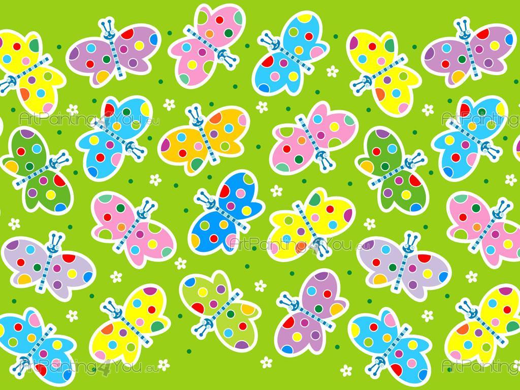 Cenefas infantiles mariposas fdi1007es - Cenefas decorativas infantiles ...
