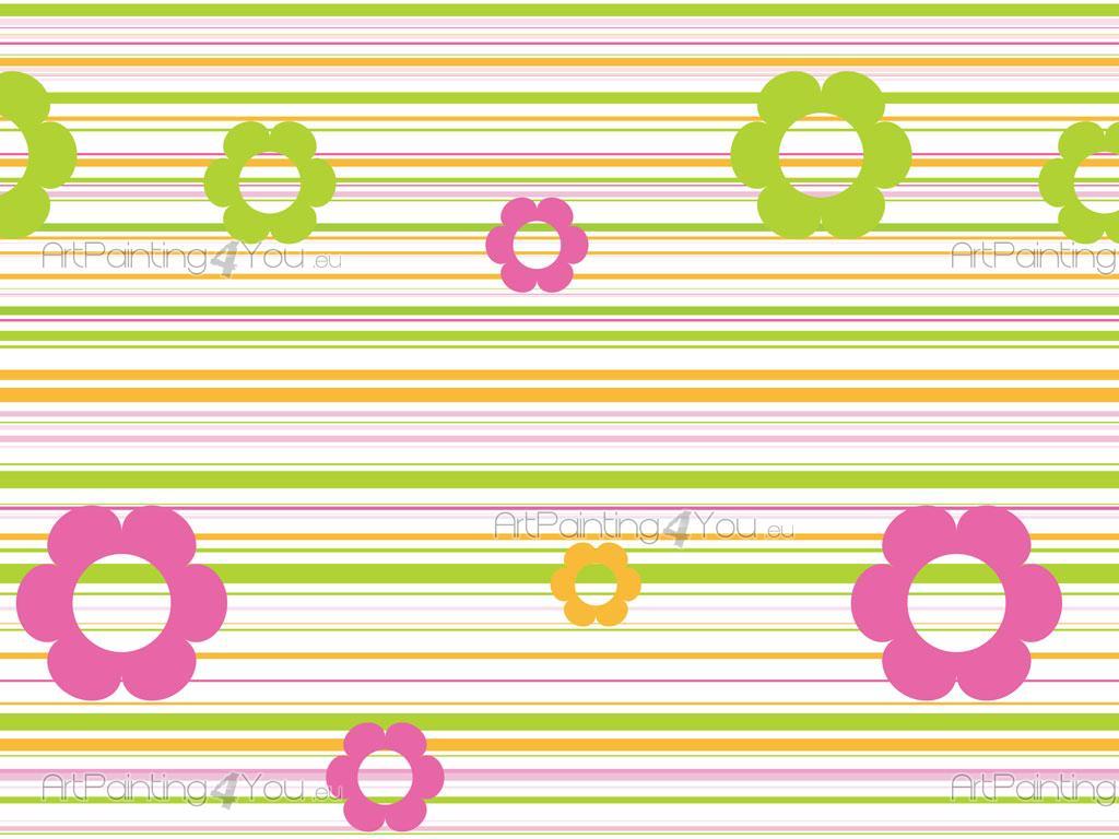 Cenefas infantiles flores fdi1008es - Cenefas de papel infantiles ...