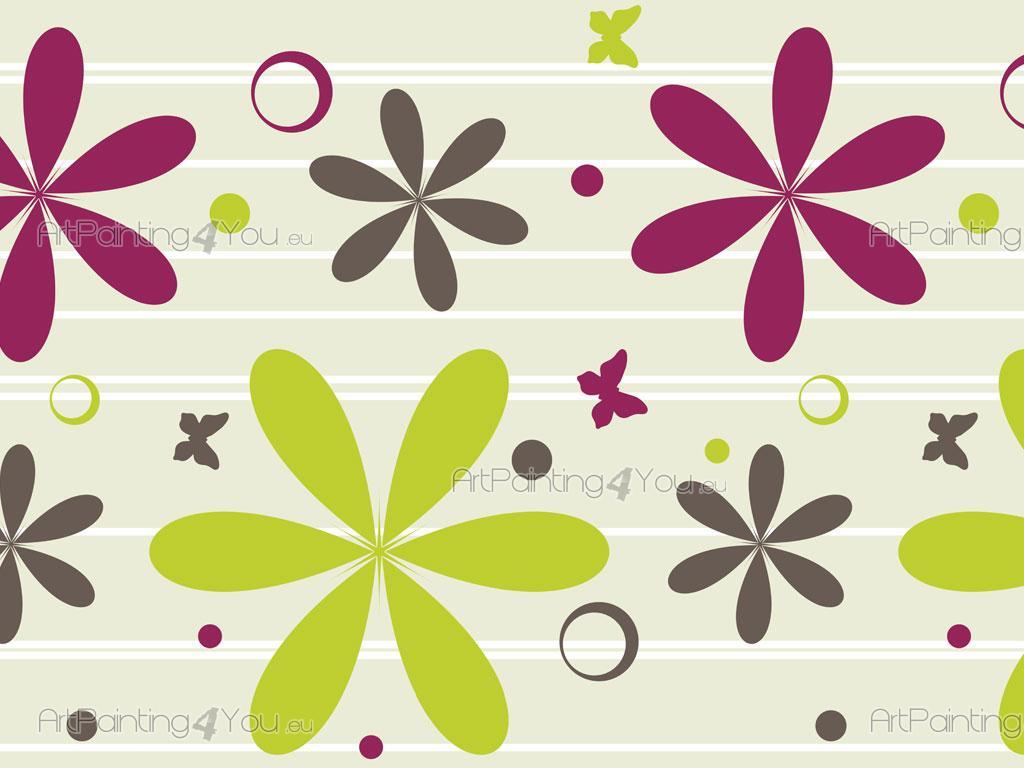 Cenefas infantiles flores mariposas fdi1010es - Cenefas decorativas infantiles ...