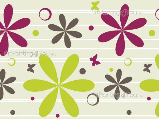 Flowers & Butterflies - Kids Wallpaper Borders