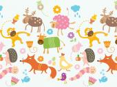 Funny Animals - Kids Wallpaper Borders