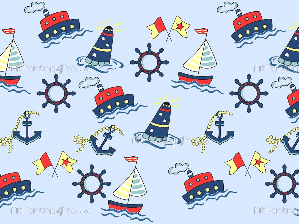 Cenefas infantiles barcos fdi1017es - Cenefas decorativas infantiles ...