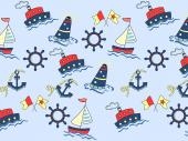 Boats - Kids Wallpaper Borders