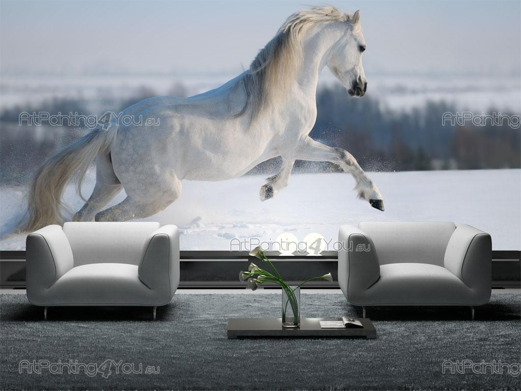 papier peint poster cheval mca1004fr. Black Bedroom Furniture Sets. Home Design Ideas