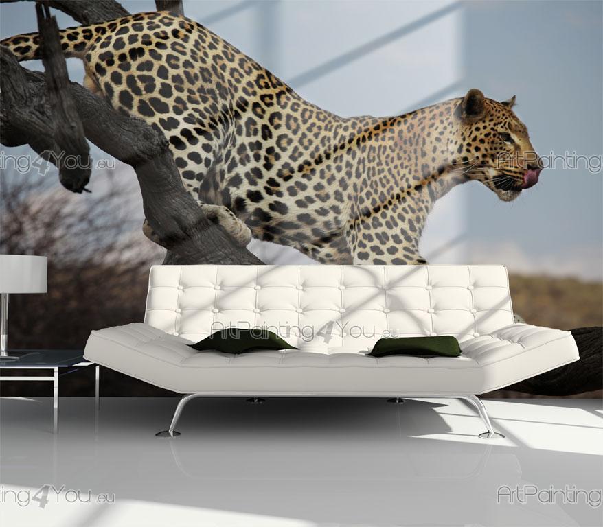 papier peint poster l opard mca1010fr. Black Bedroom Furniture Sets. Home Design Ideas