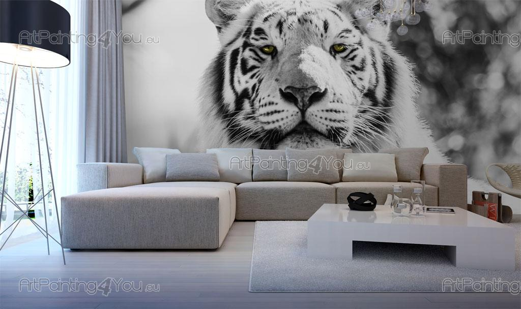 papier peint poster tigre mca1027fr. Black Bedroom Furniture Sets. Home Design Ideas