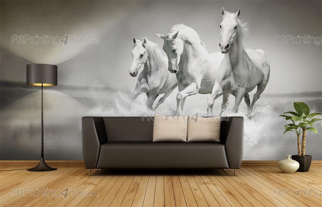 Papier Peint & Poster Chevaux | ArtPainting4You.eu® | (MCA1040fr)
