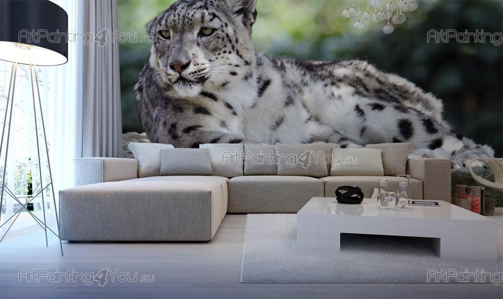 papier peint animaux poster impression sur toile l opard 2723fr. Black Bedroom Furniture Sets. Home Design Ideas