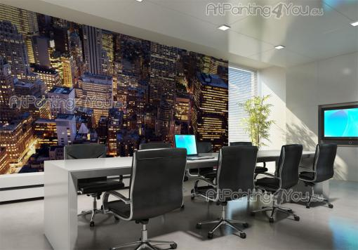 New York Panoramic View - Wall Murals Cities & Posters