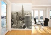 Empire State Building - Black and White Wall Murals & Posters