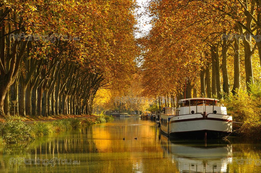 Wall Murals Amp Posters Canal Du Midi France