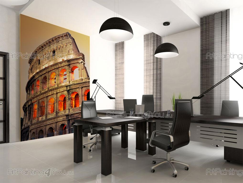 papier peint poster colis e de rome. Black Bedroom Furniture Sets. Home Design Ideas