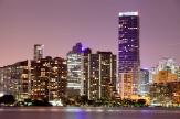 Miami at Night - Wall Murals Cities & Posters