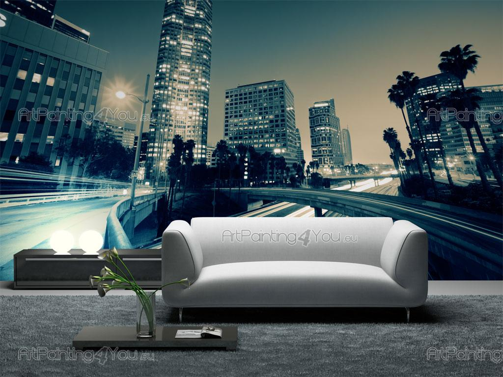 fototapete st dte poster leinwandbilder los angeles 1243de. Black Bedroom Furniture Sets. Home Design Ideas