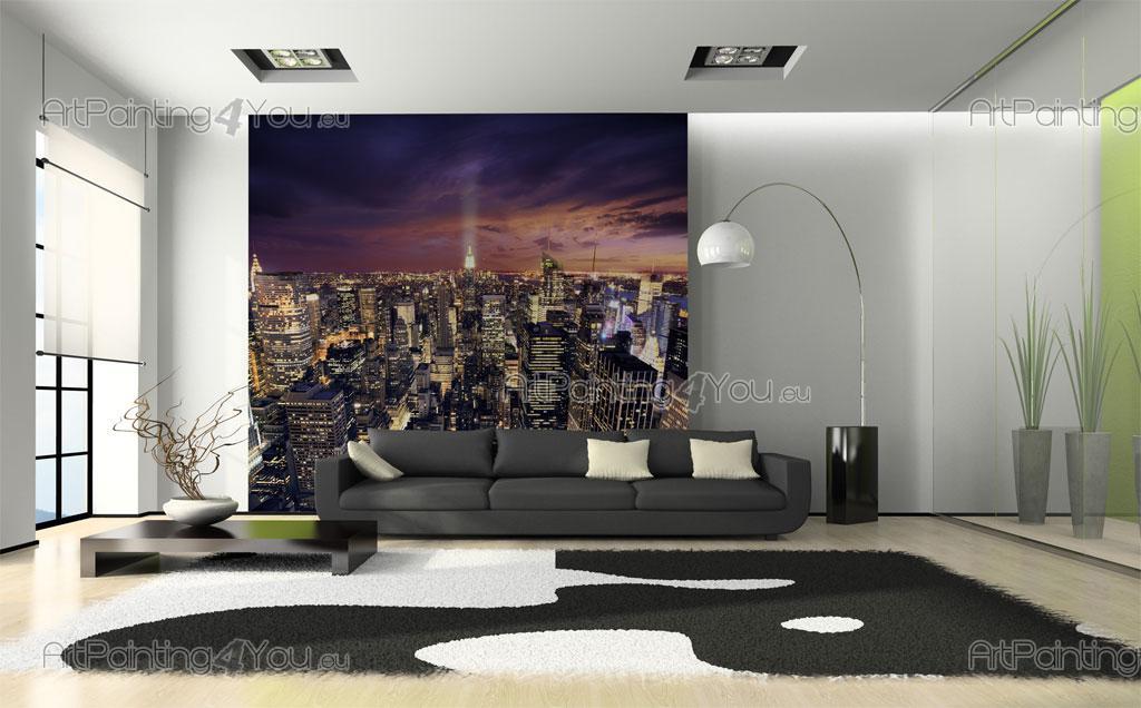 Carta da parati poster new york - Telas decorativas para paredes ...