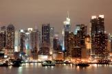 New York Manhattan at Night - Wall Murals Cities & Posters