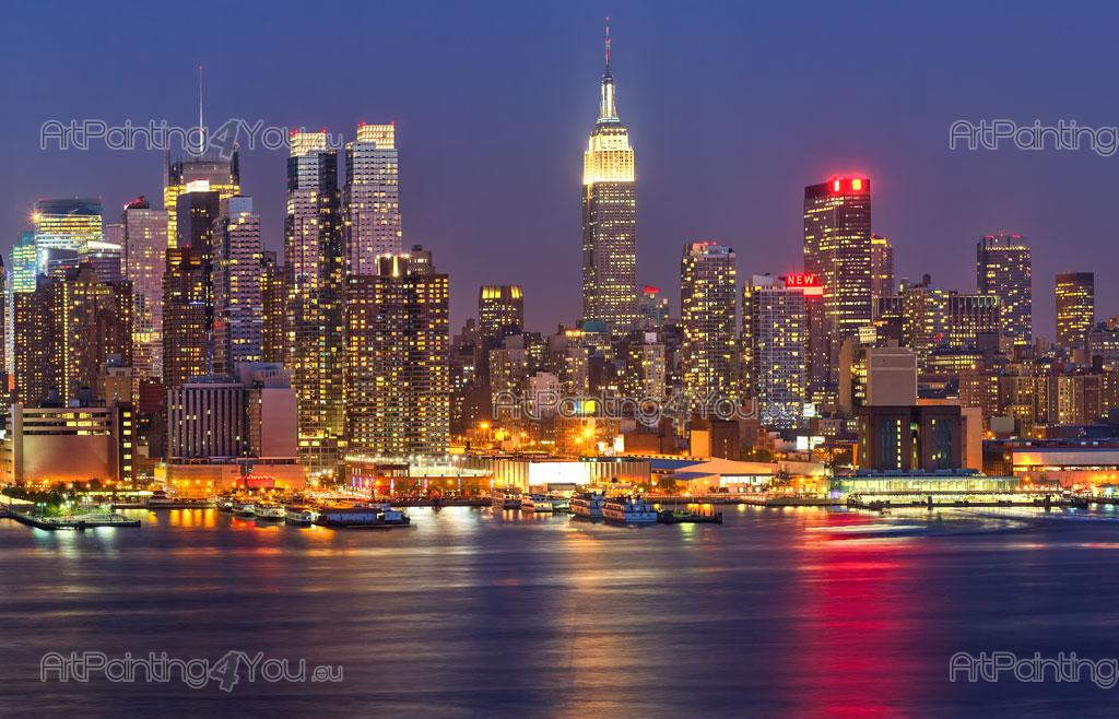 ... New York At Night   Wall Murals Cities U0026 Posters Part 98