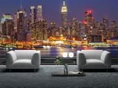New York at Night - Wall Murals Cities & Posters