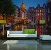 Amsterdam by Night - Wall Murals Cities & Posters