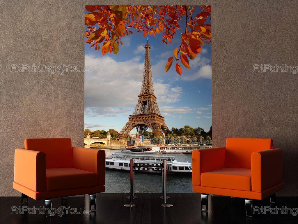 Papier peint poster tour eiffel paris artpainting4you - Poster tour eiffel ...