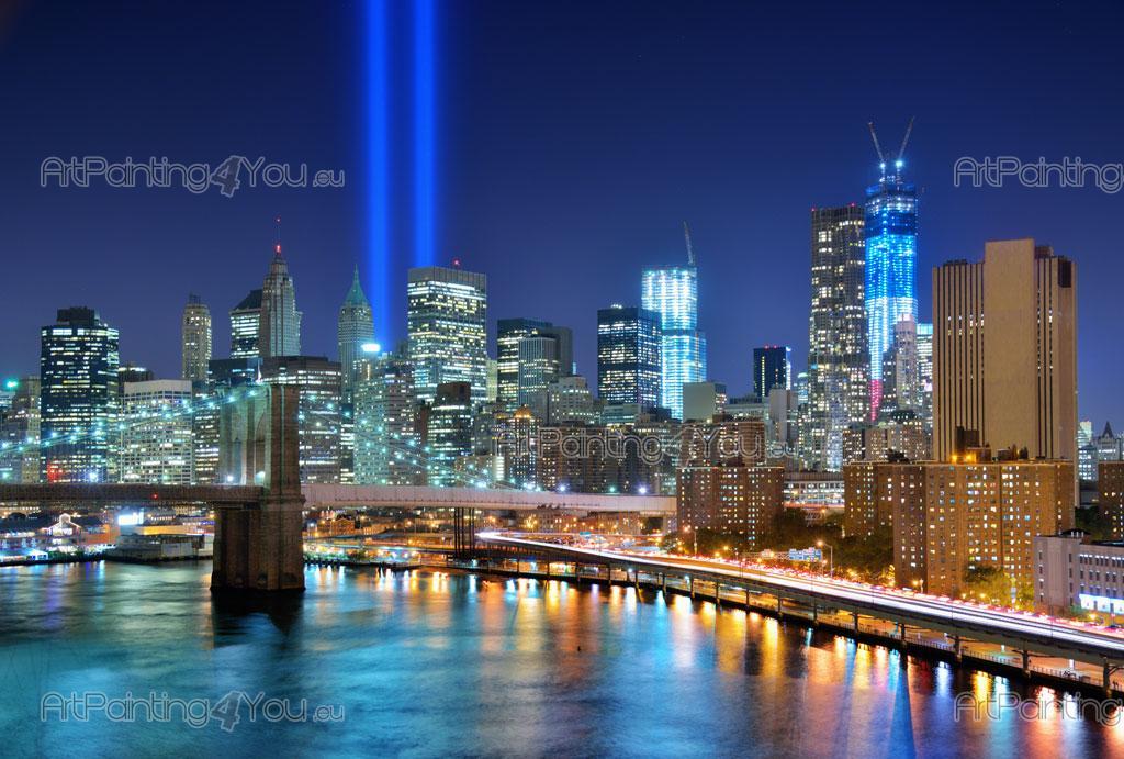 Fotobehang & posters Brooklyn Bridge New York (MCC1105nl