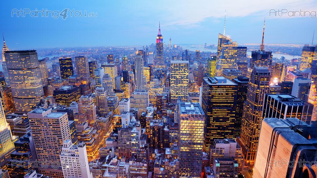 ... New York Panoramic View   Wall Murals Cities U0026 Posters Part 64