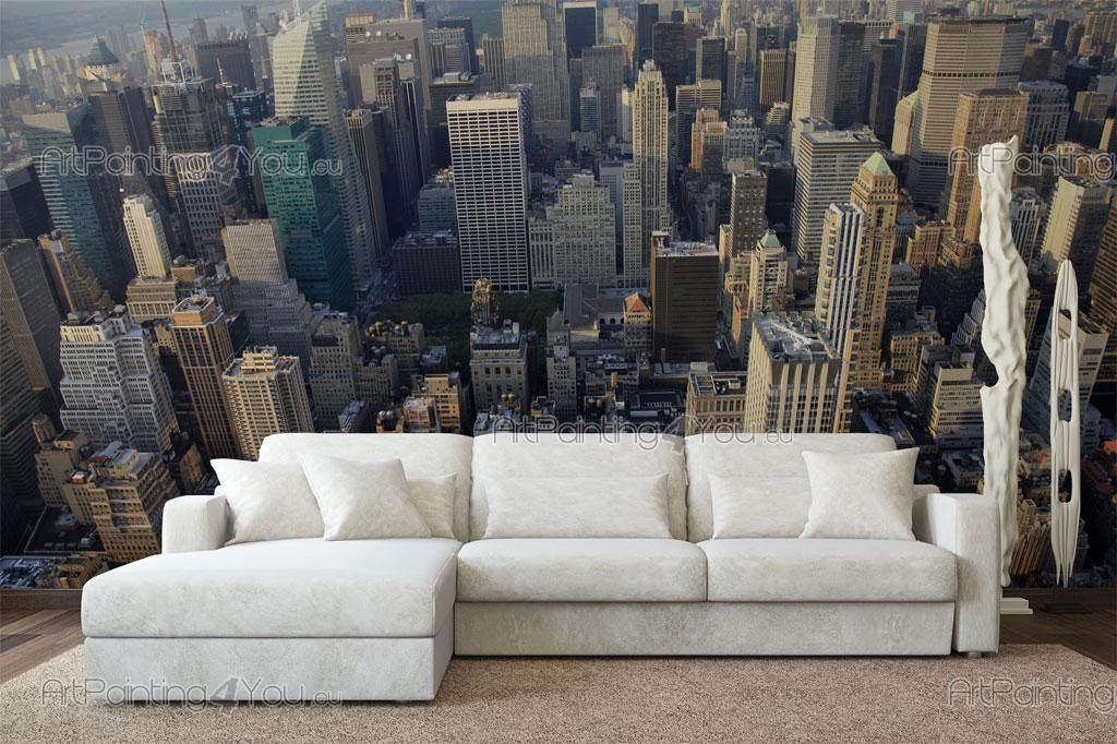 Wall Murals Posters New York Panoramic View Artpainting4you Eu