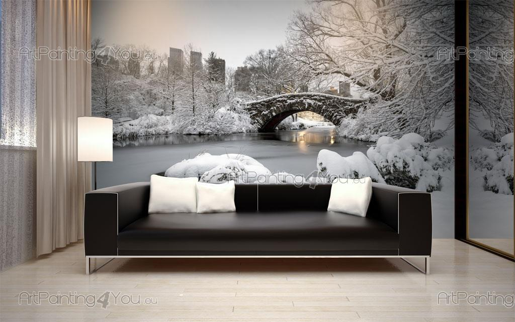Carta da parati poster central park new york citt mcc1127it - Poster da parete per camera da letto ...