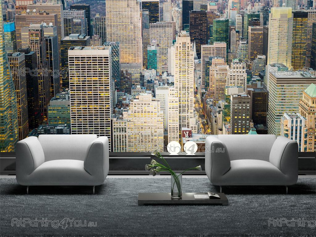 wall murals cities canvas prints posters new york city 2424en. Black Bedroom Furniture Sets. Home Design Ideas