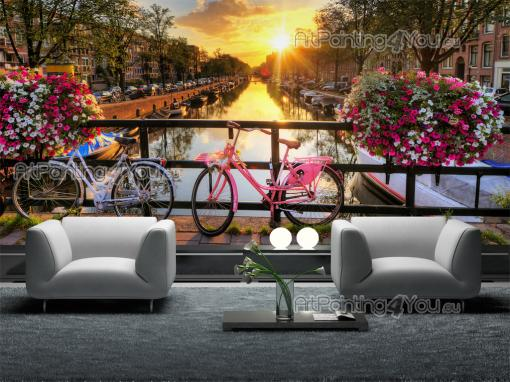 Amsterdam Netherlands - Wall Murals Cities & Posters