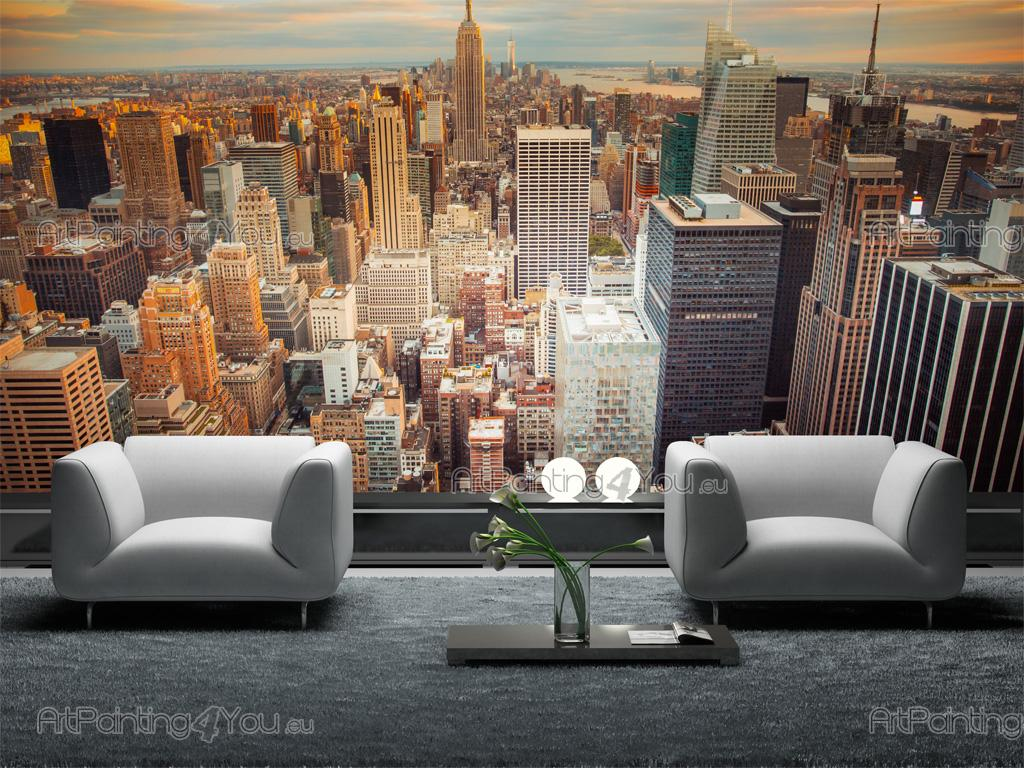 New York Panoramic View   Wall Murals Cities U0026 Posters ... Part 53