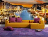Venice Italy - Wall murals for interior decoration with the magnificent Grand Canal of Venice in Italy