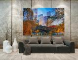 Wall Murals Cities & Posters - Take a trip to New York, the city of lights and dreams, without leaving your house. Apply on any wall of a living room or bedroom a wall mural featuri...