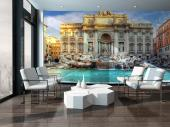 Trevi Fountain Rome - Wall Murals Cities & Posters