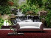 Japanese Garden - Wall Murals Waterfalls & Posters