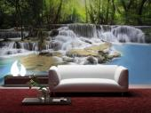 Tropical Lake - Wall Murals Waterfalls & Posters