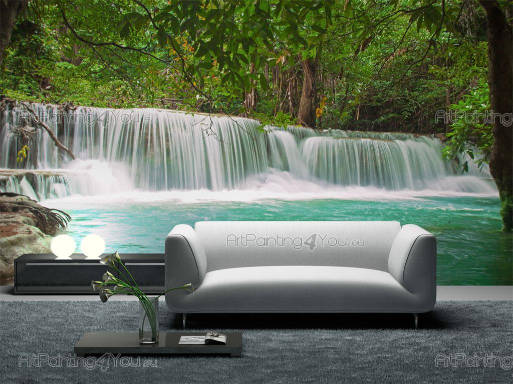 papierpeint9 papier peint foret tropicale. Black Bedroom Furniture Sets. Home Design Ideas