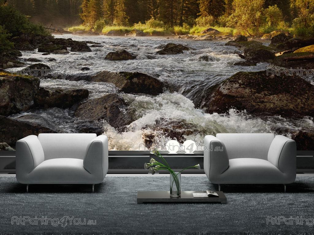 papier peint poster personnalis sur mesure montagne. Black Bedroom Furniture Sets. Home Design Ideas