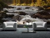 Mountain River - Wall Murals Waterfalls & Posters
