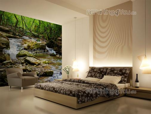 Forest - Wall Murals Waterfalls & Posters