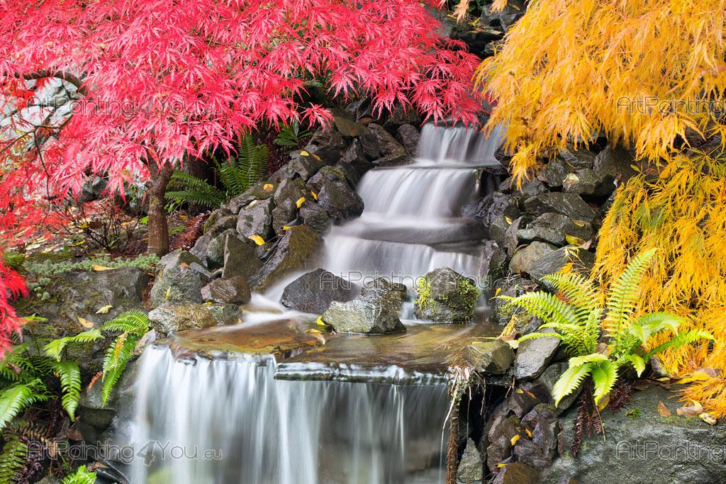 Japanese Garden   Wall Murals Waterfalls U0026 Posters