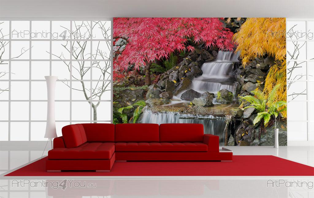 Superbe Japanese Garden   Wall Murals Waterfalls U0026 Posters