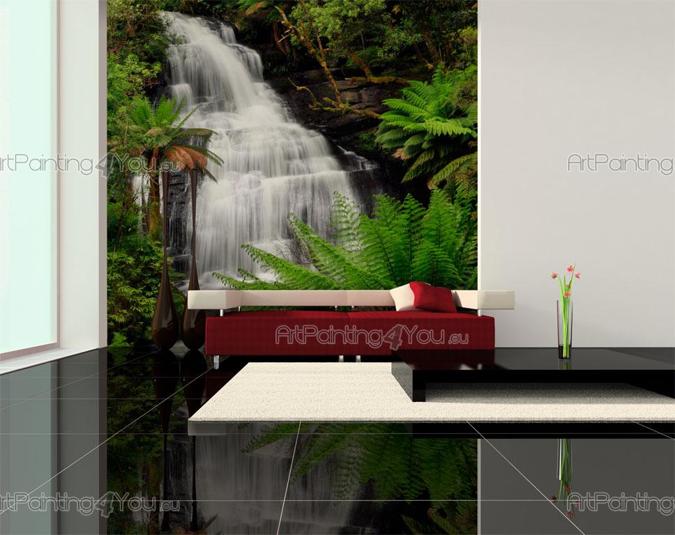 papier peint poster personnalis sur mesure chute d 39 eau. Black Bedroom Furniture Sets. Home Design Ideas