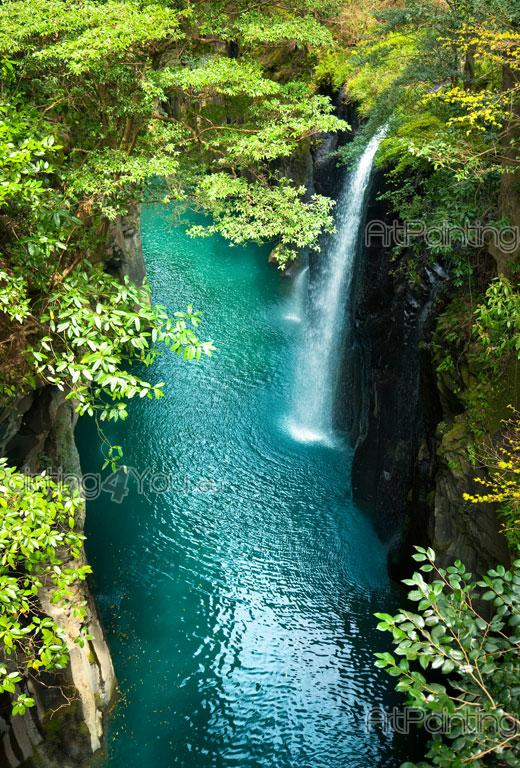 Wall Murals Amp Posters Custom Size Tropical Waterfall
