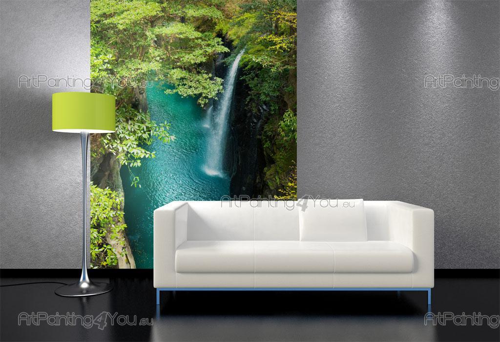 Tropical waterfall wall murals posters mcca1038en for Poster mural 4 murs