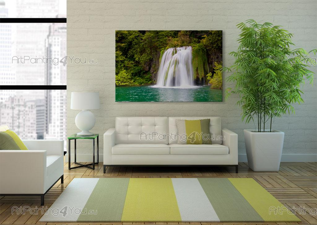 Tropical waterfall wall murals posters mcca1040en for Poster mural 4 murs