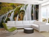 Autumn Waterfall - Wall Murals Waterfalls & Posters